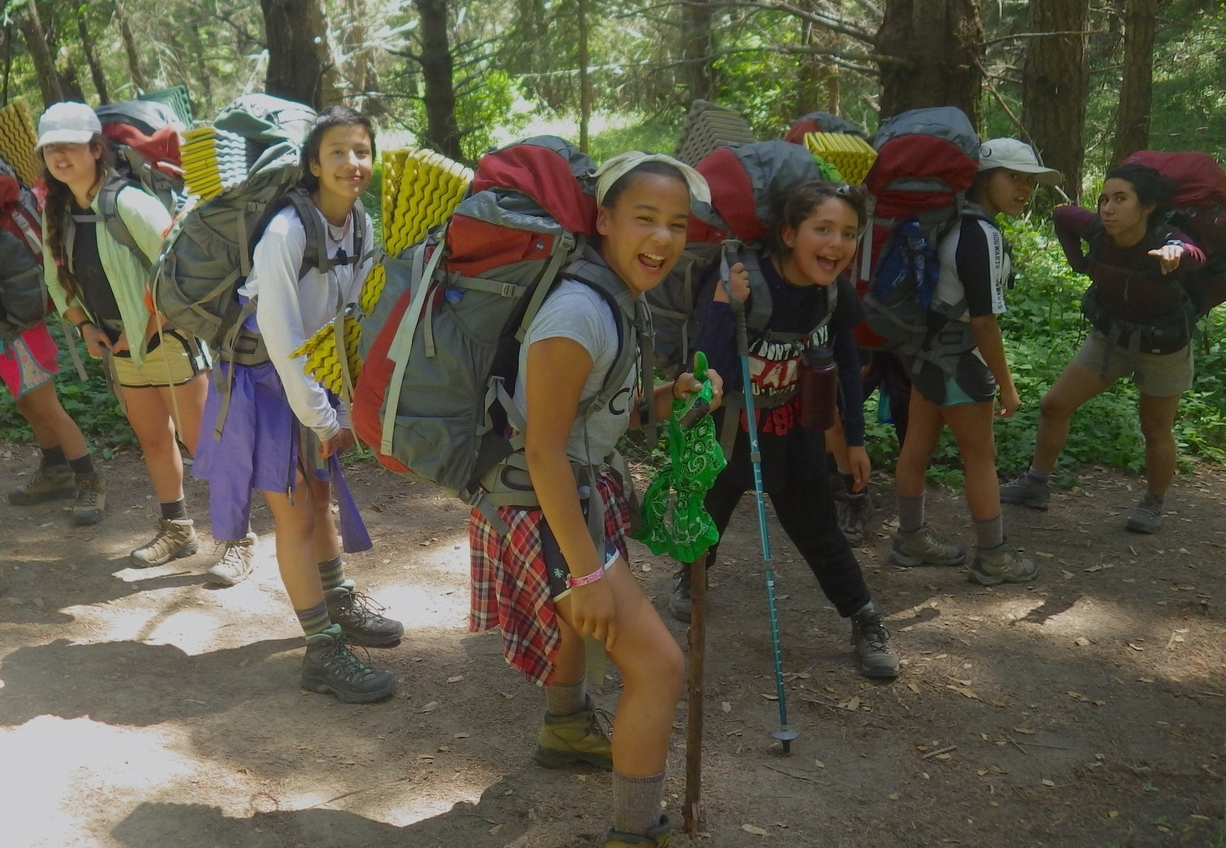 REDWOOD ADVENTURE COAST   A 7-day adventure for girls and gender expansive youth entering 6th or 7th grade.  Course Dates: June 16-22, 2019