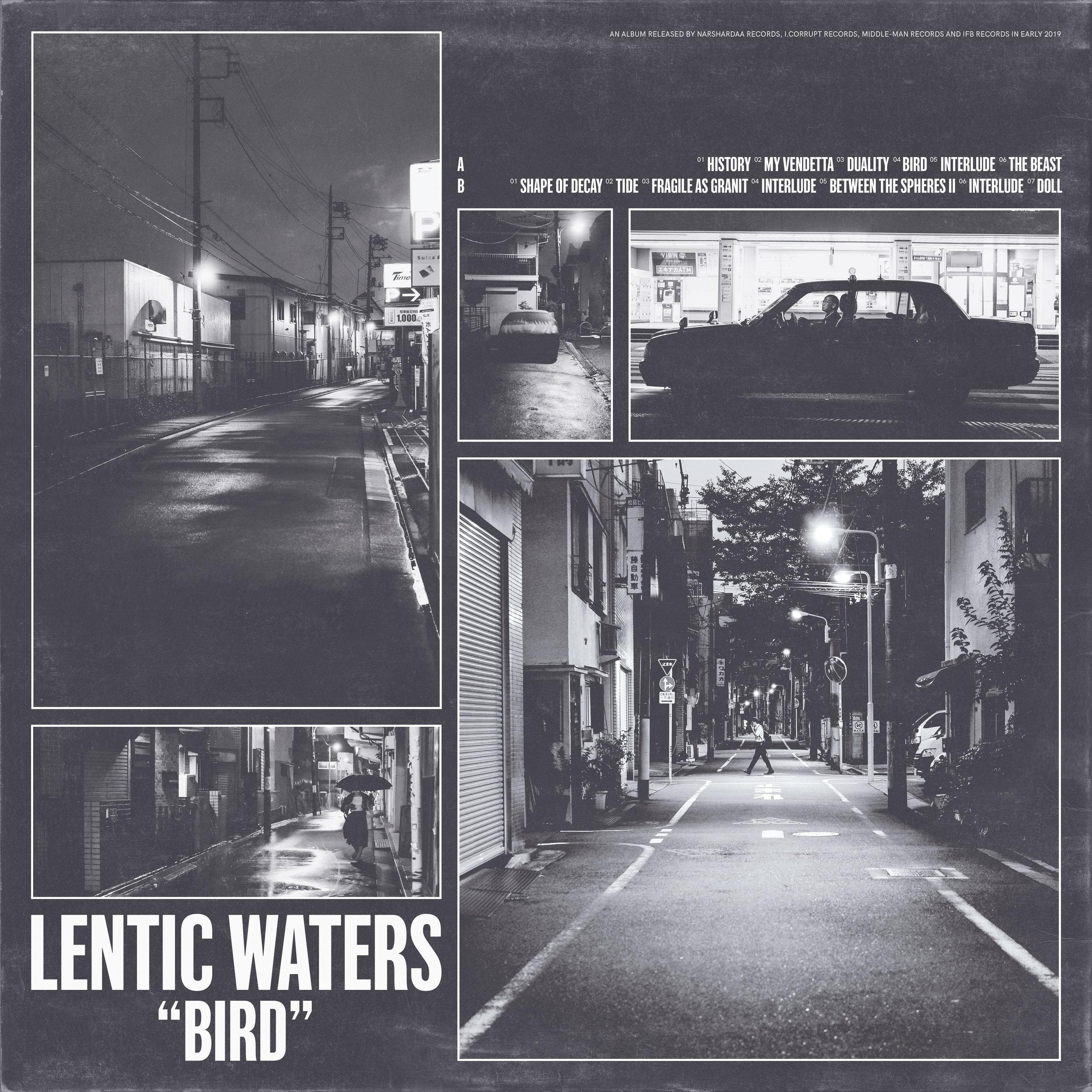 Lentic Waters - Bird LP - $15
