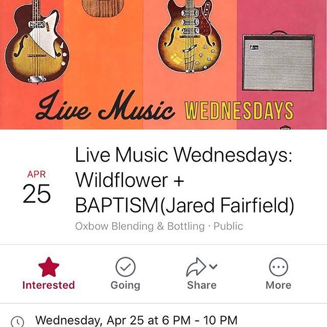 @oxbowbrewingcompany is doing #livemusic on #Wednesdaynight now check it #mainemusic #maineshit #207music #mainething #humpday #brewerylife #eastend