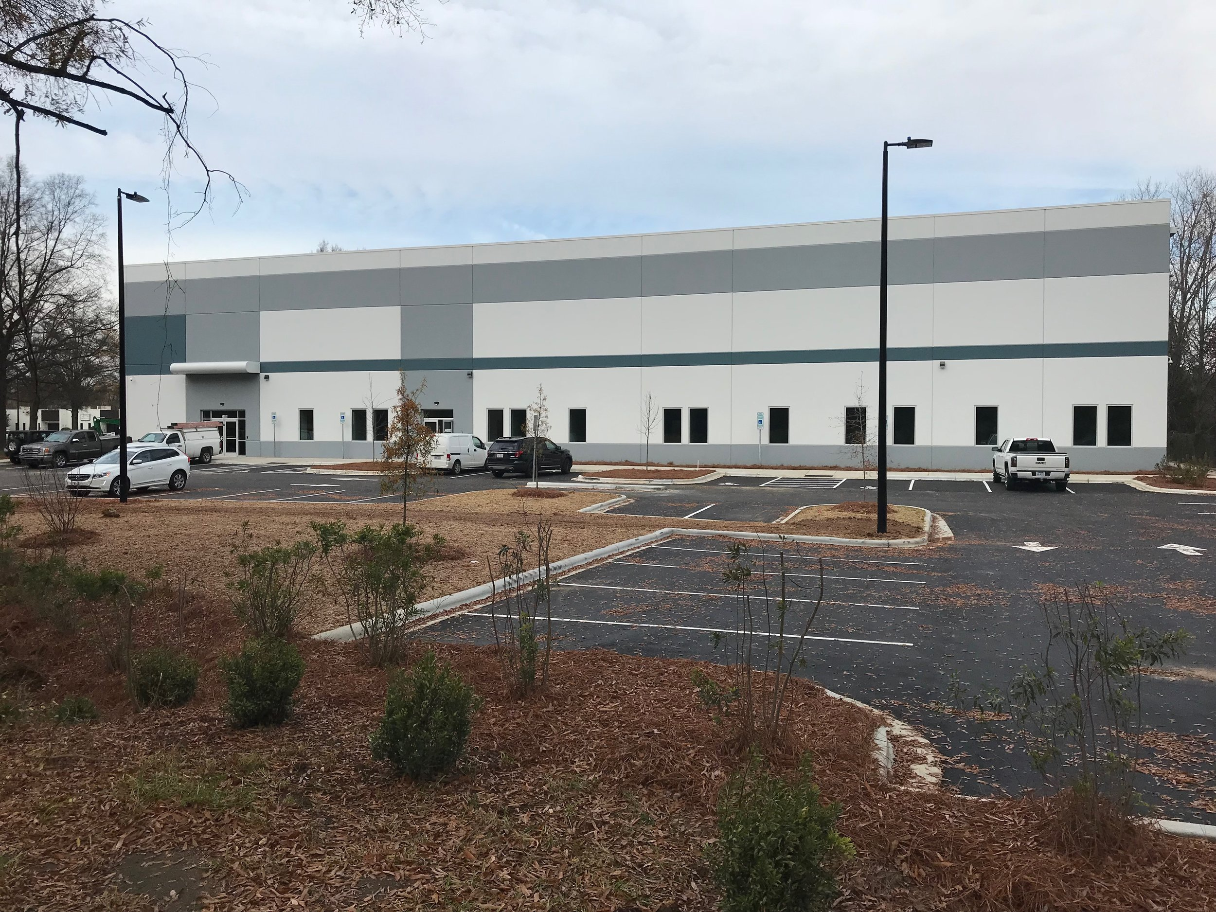Anixter - Trade Park Court - 50,000 square foot building.   Click below to see the press release listing D&A as the Civil Engineer For Anixter on Trinity Capital Advisor's website:   http://www.trinitycapitaladvisors.com/trinity-capital-advisors-anixter-south-end-business-park/