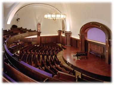 The auditorium at NYSEC