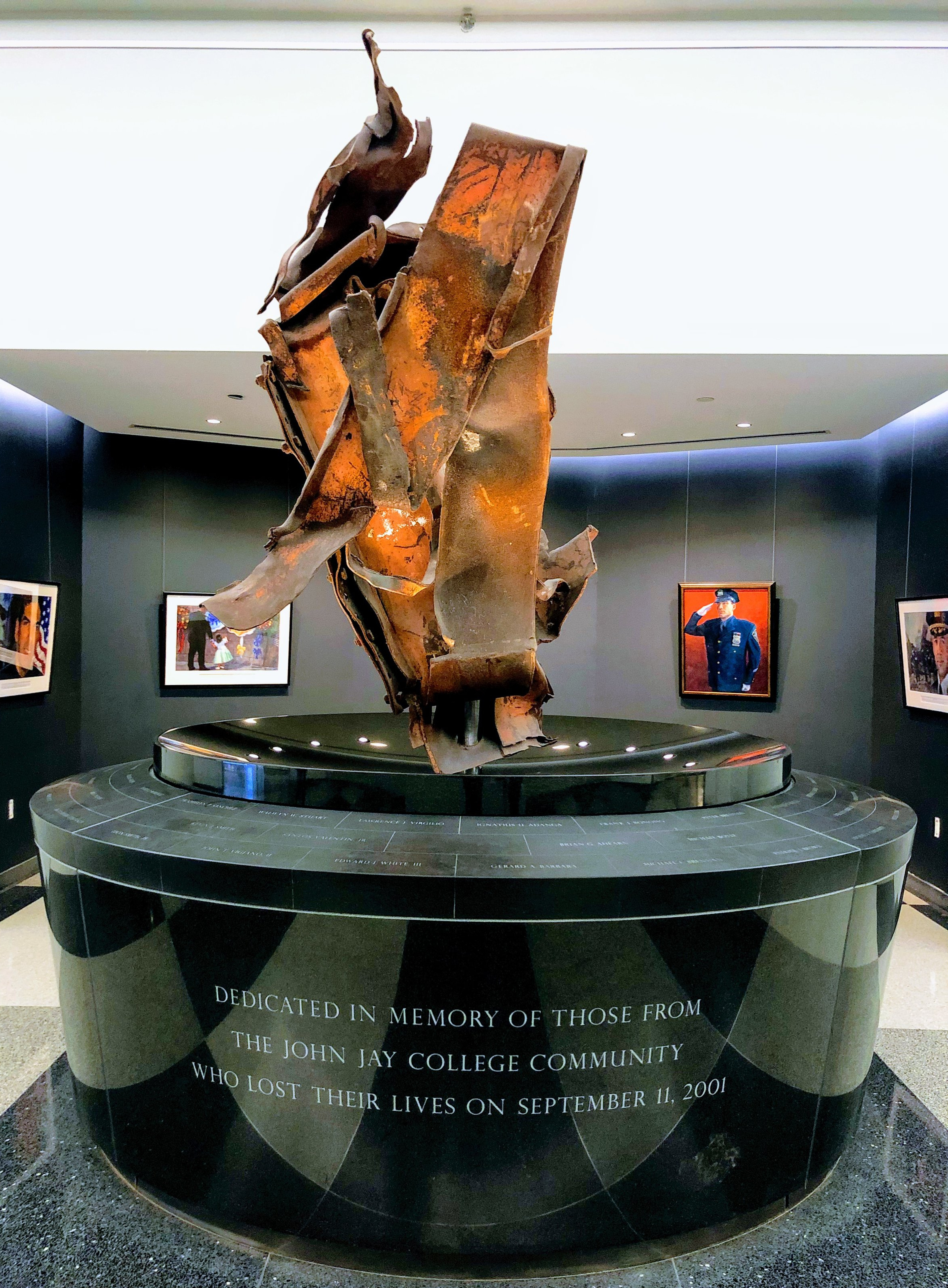 9/11 Memorial at John Jay College
