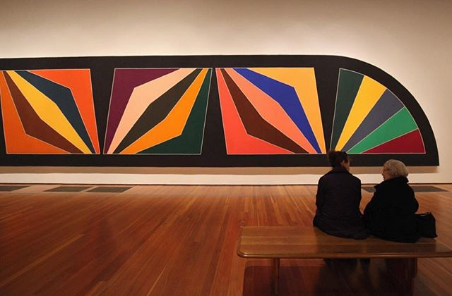 Sometimes, bigger is better #frankstella #deyoung