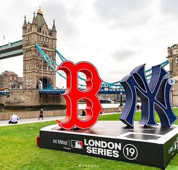 Marlins Man at London Series
