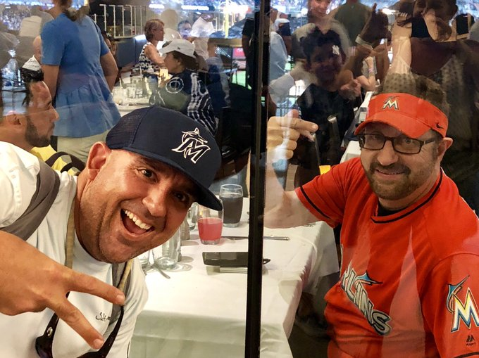 Marlins Man at Yankee Stadium 7/18/19
