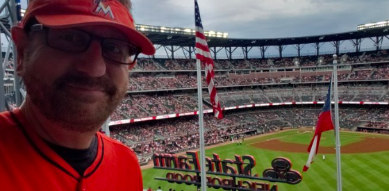 Marlins Man in Atlanta