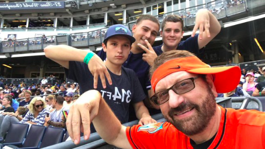 Marlins Man at Yankee Stadium- 8/31