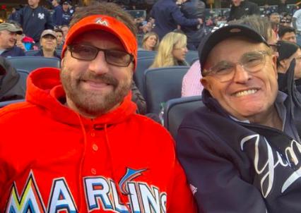 Marlins Man at Yankee Stadium - 10/5