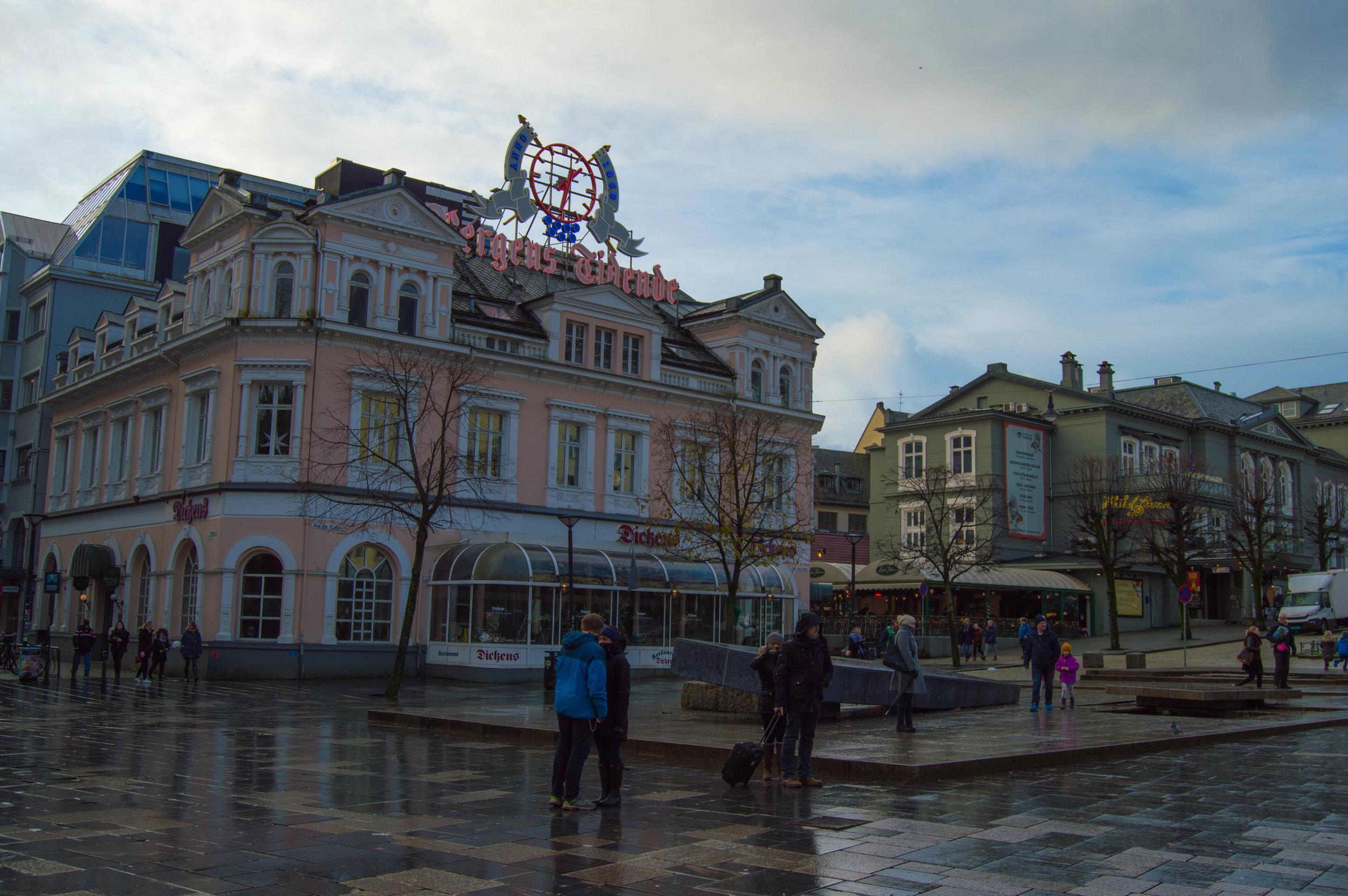 Bergens Tidende building