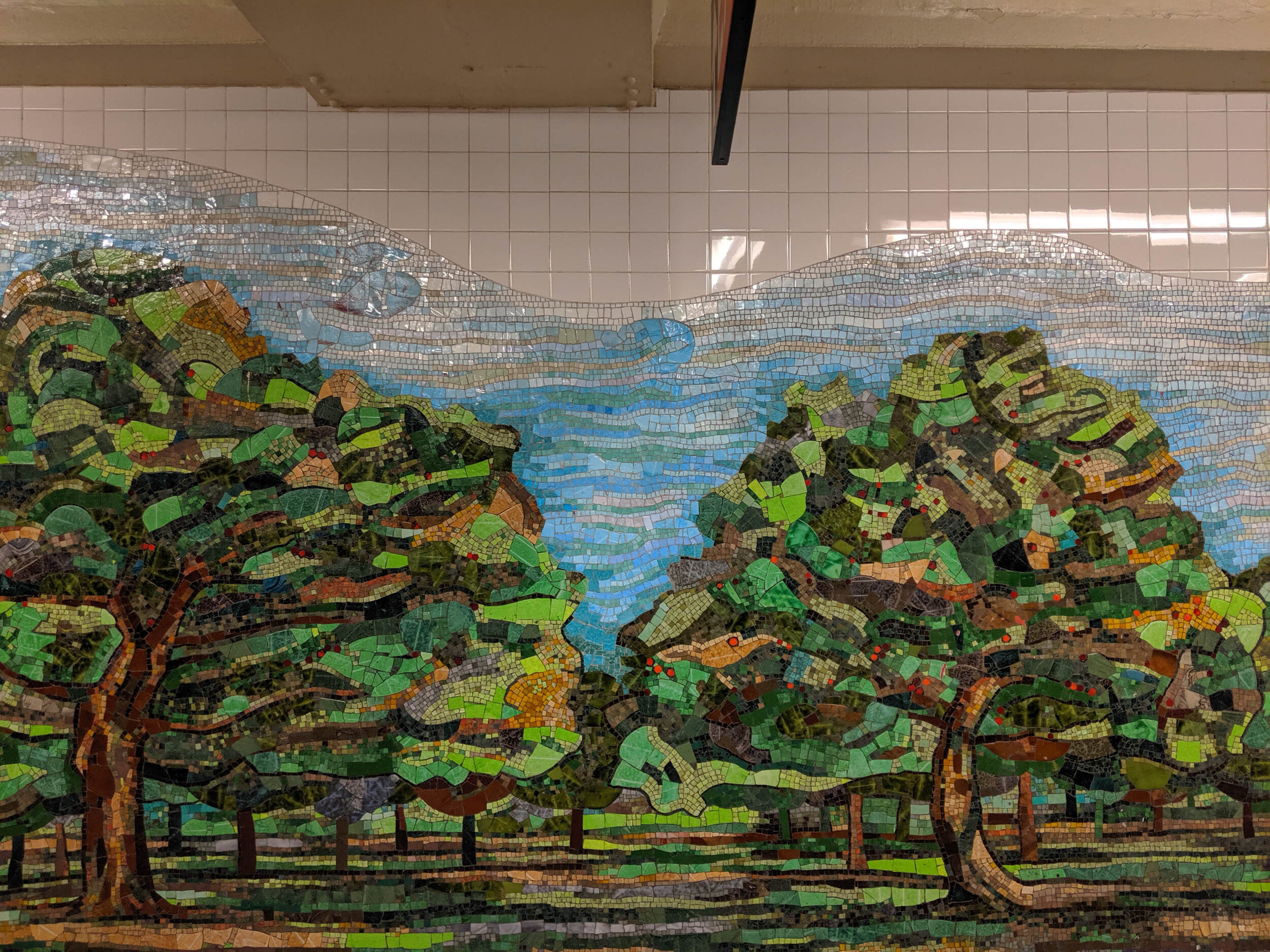 Delancy Orchard | Subway mural