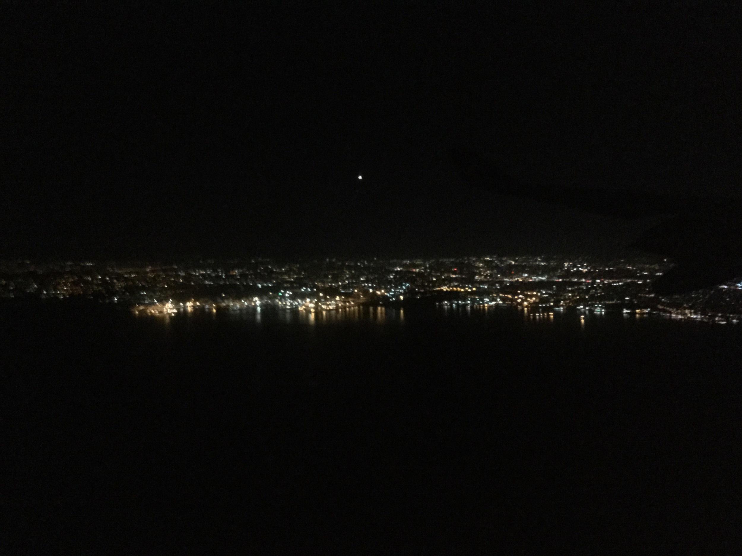 Night Lights of Istanbul, Turkey.