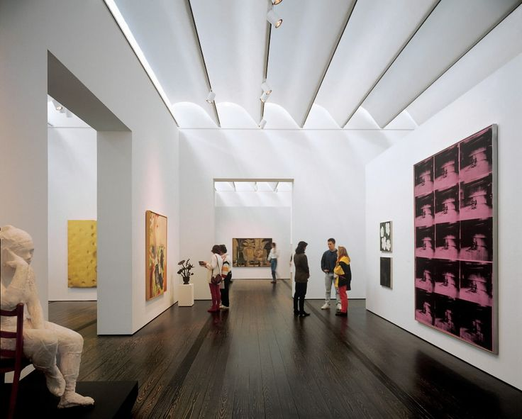 Image of the Menil Museum in Houston, TX
