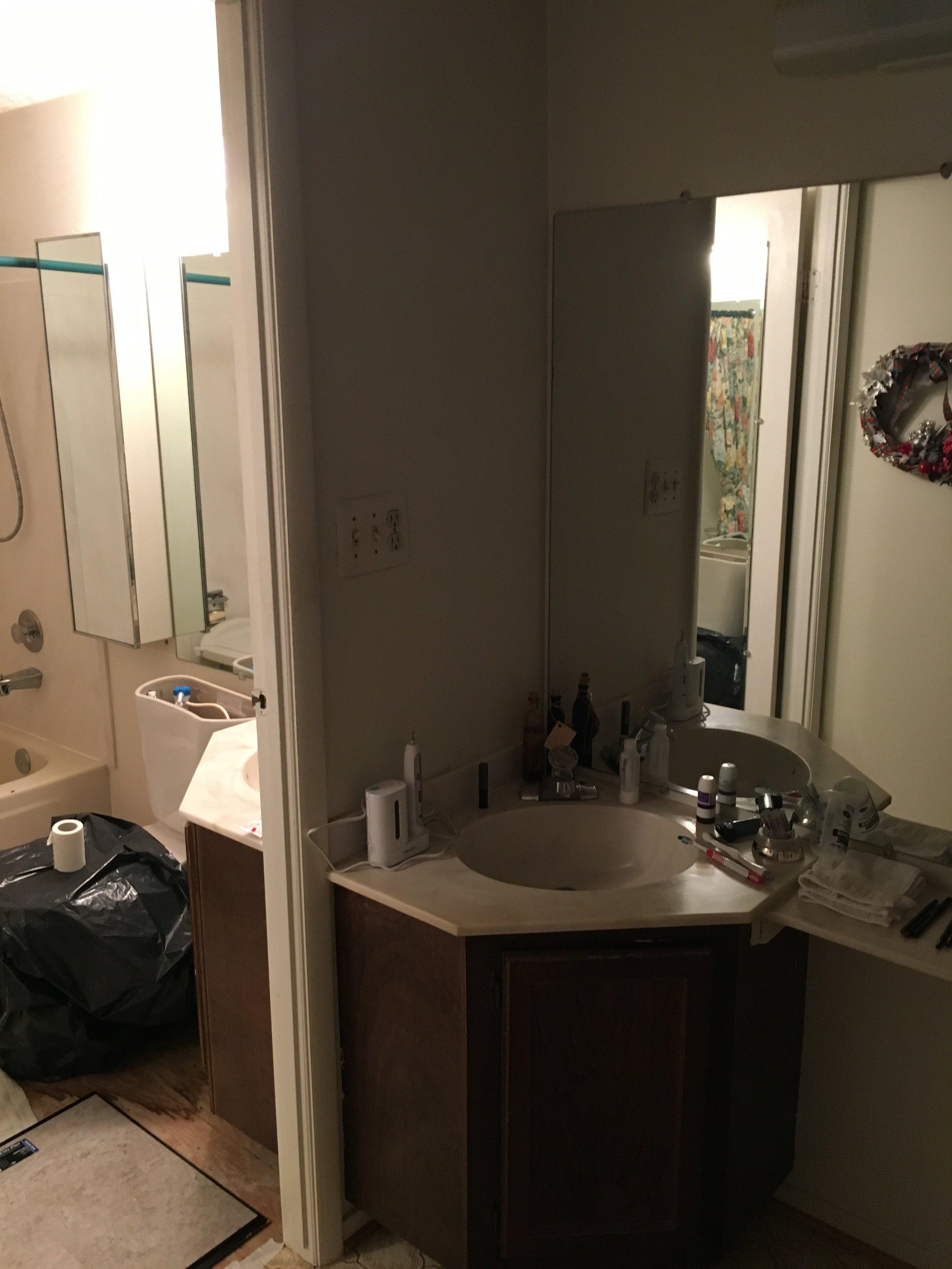 Bathroom #2- Before