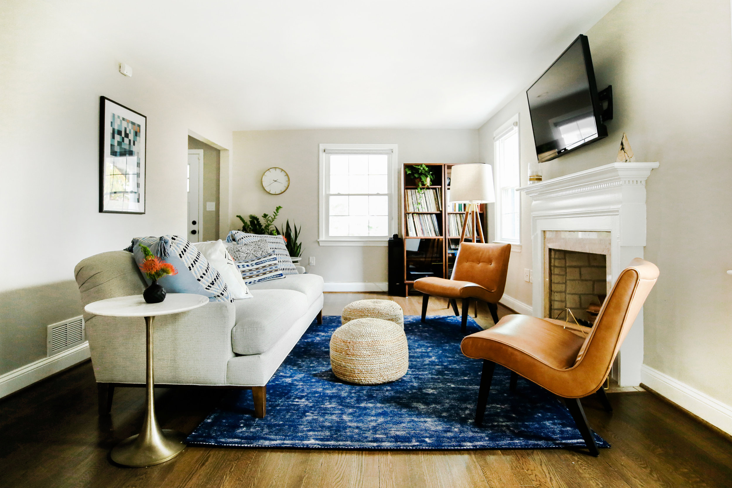 Polished Cali Living Room