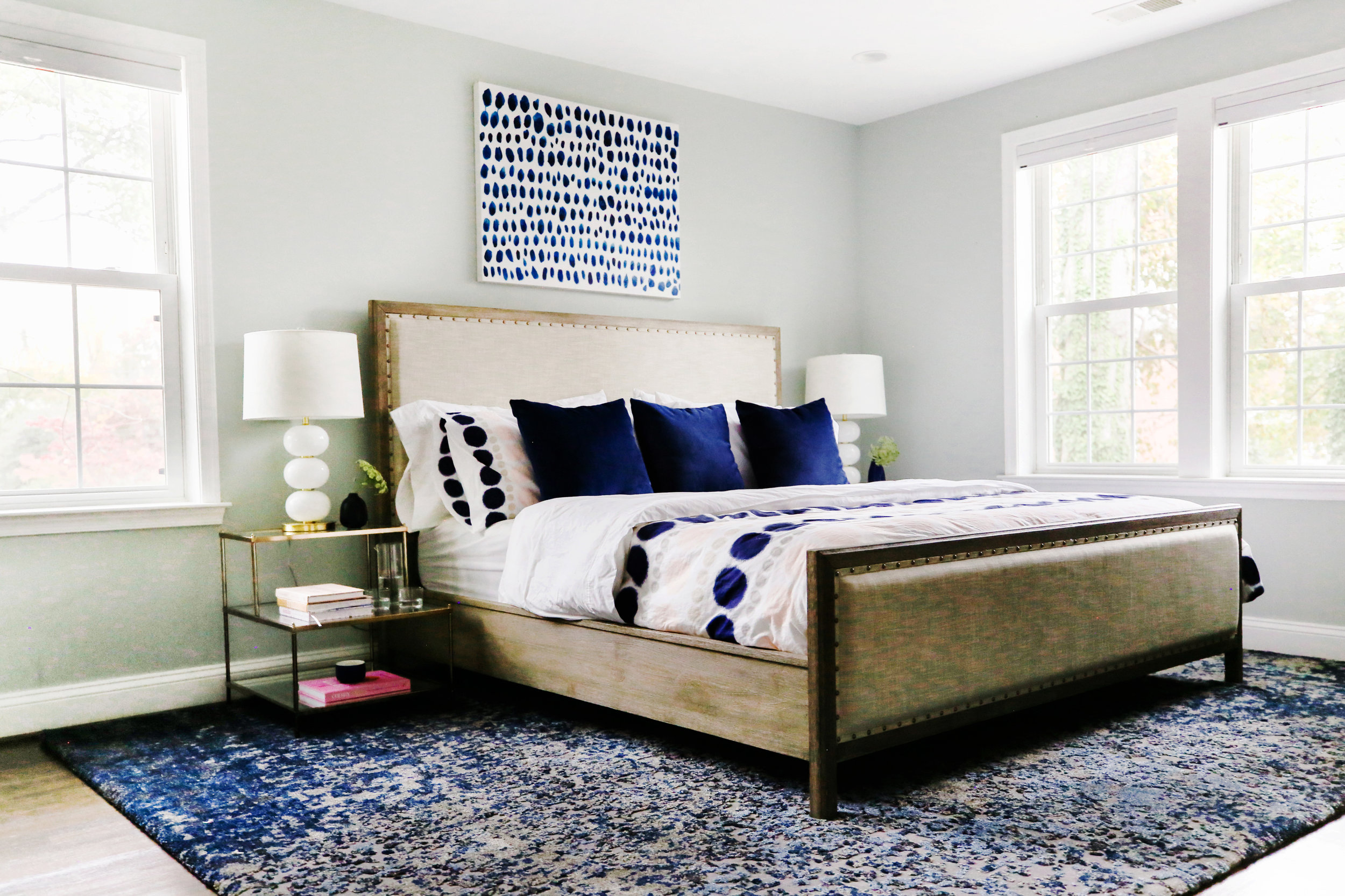 Graphic Master Bedroom