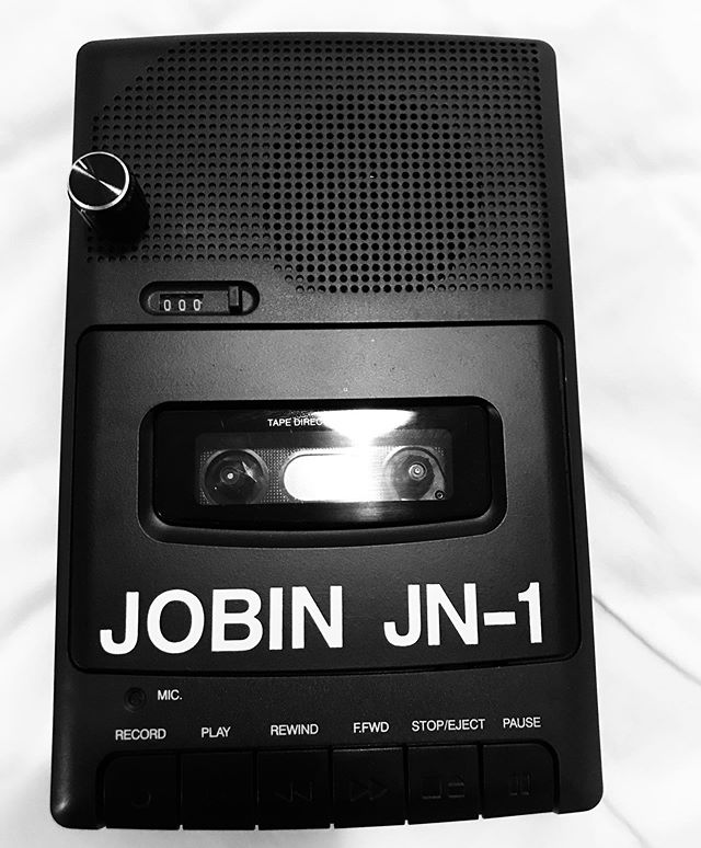 Picked up a pitch modded cassette player from @nathanfgibson  #cassette #portland #ambient #drone #oregon #lumastora #iloveyouman #jobin #tape #lofi