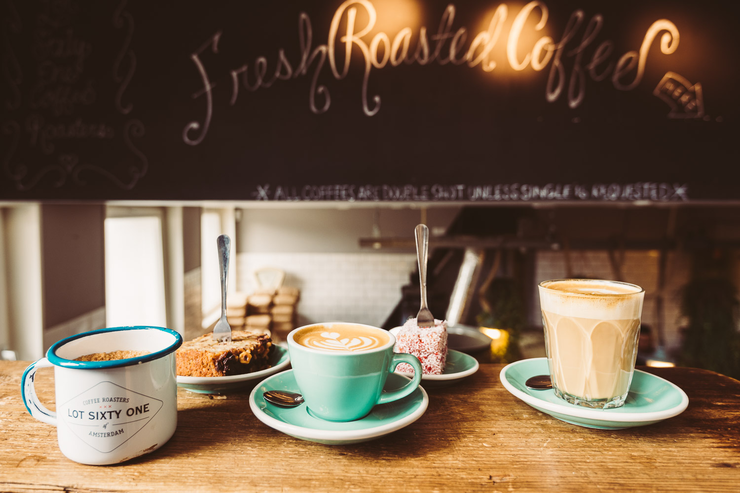 Lot Sixty One Coffee Roasters in Amsterdam - Coffee