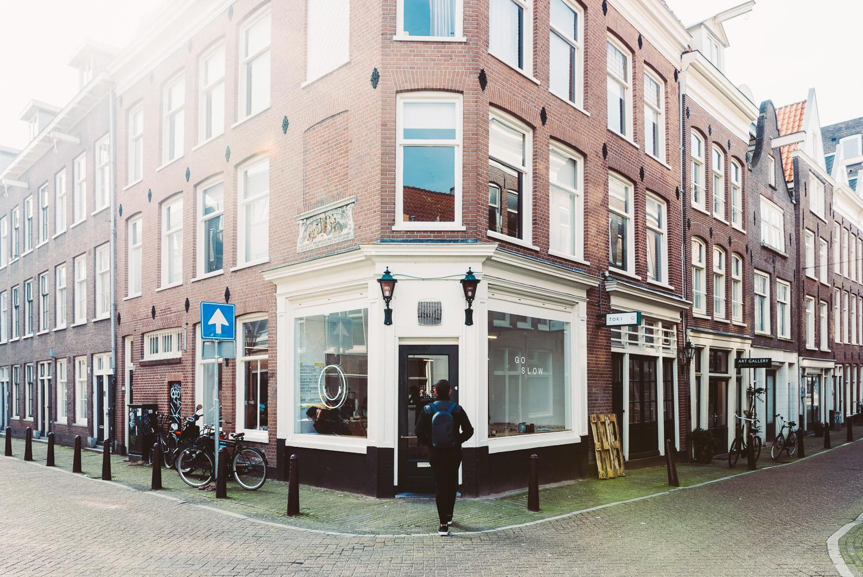 TOKI coffee shop in Amsterdam - Exterior