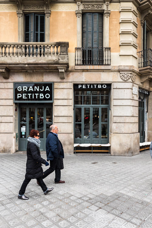 Breakfast in Barcelona at Granja Petitbo