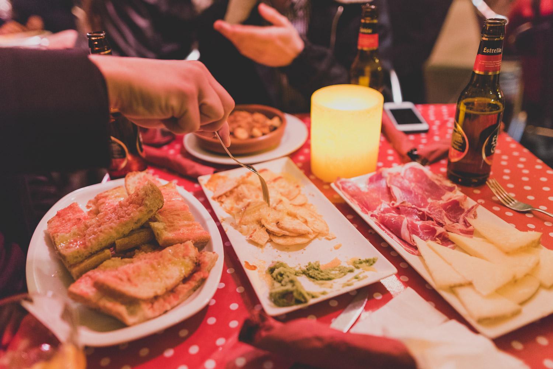 Calders bar in Barcelona