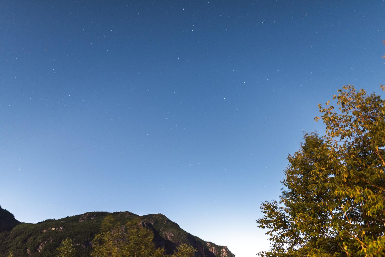 Vue de nuit, superbe de dormir parmi les étoiles - Toutes les photos sont sous Copyright © 2016 Jeff Frenette Photography / dezjeff. Pour utilisation des photos, me contacter au dezjeff@me.com