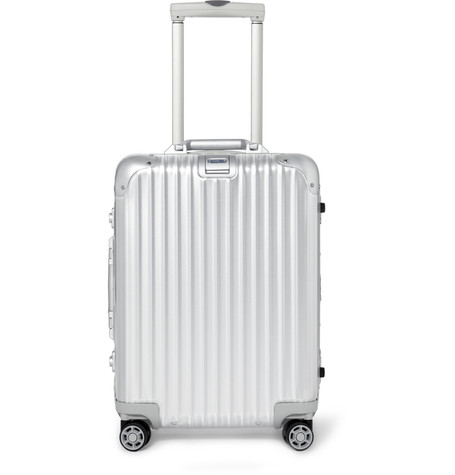 Classic Rimowa aluminum carry-on - TRAVEL GIFT IDEAS - THE ULTIMATE GIFT LIST FOR MODERN MEN