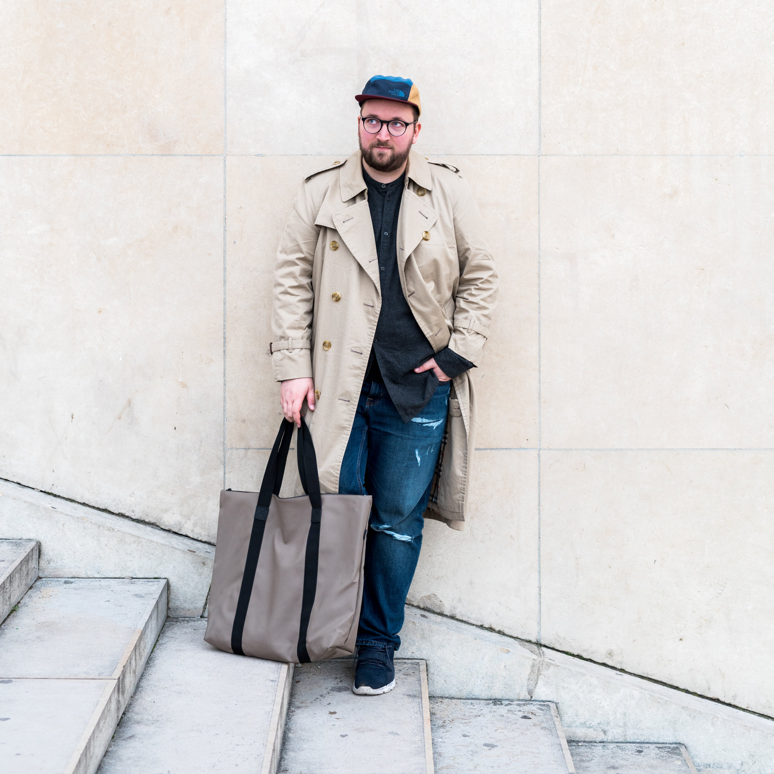 A nice tote bag to carry your stuff and groceries around by RAINS Denmark - FASHION GIFT IDEAS - THE ULTIMATE GIFT LIST FOR MODERN MEN