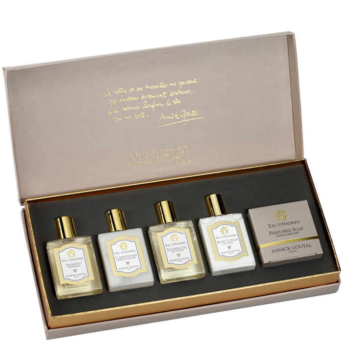 Eau d'Hadrien by Annick Goutal that I discovered at Hôtel Richepanse in Paris. It smells SO good  - GROOMING GIFT IDEAS - THE ULTIMATE GIFT LIST FOR MODERN MEN
