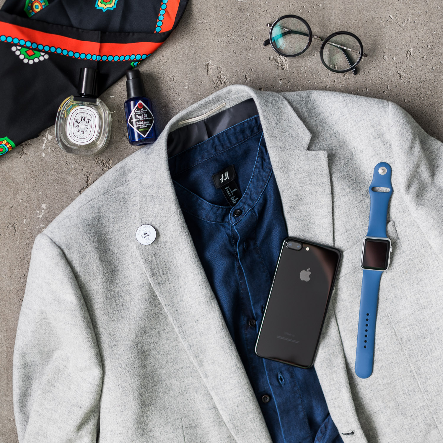 Modern look for men inspired by Holidays and Christmas by dezjef