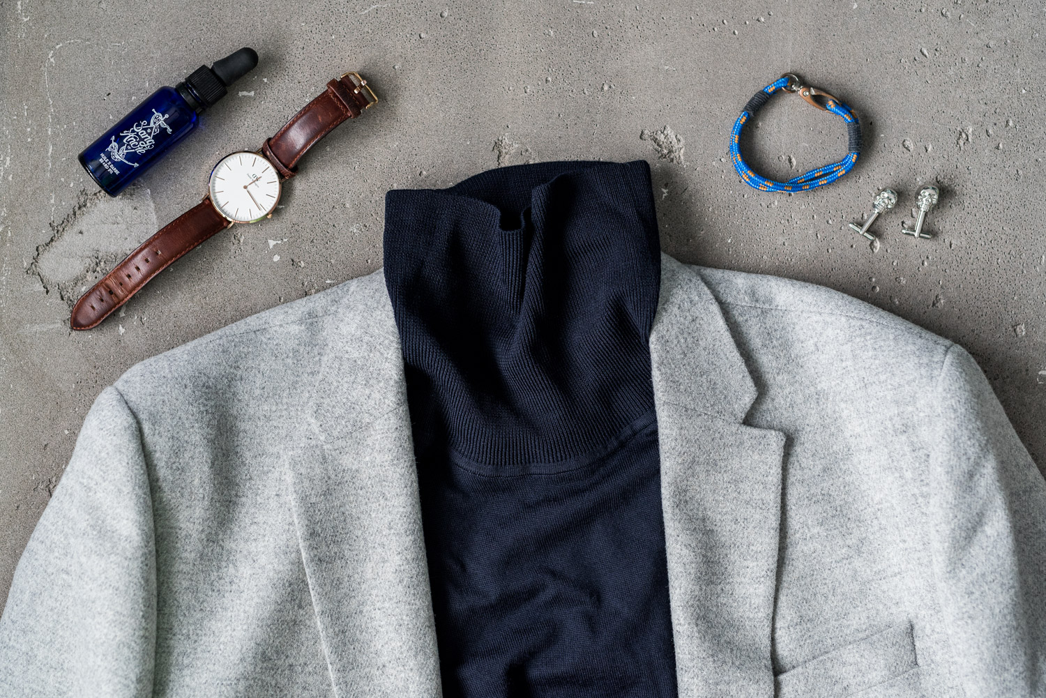 Classic look with a twist for men inspired by Holidays and Chris