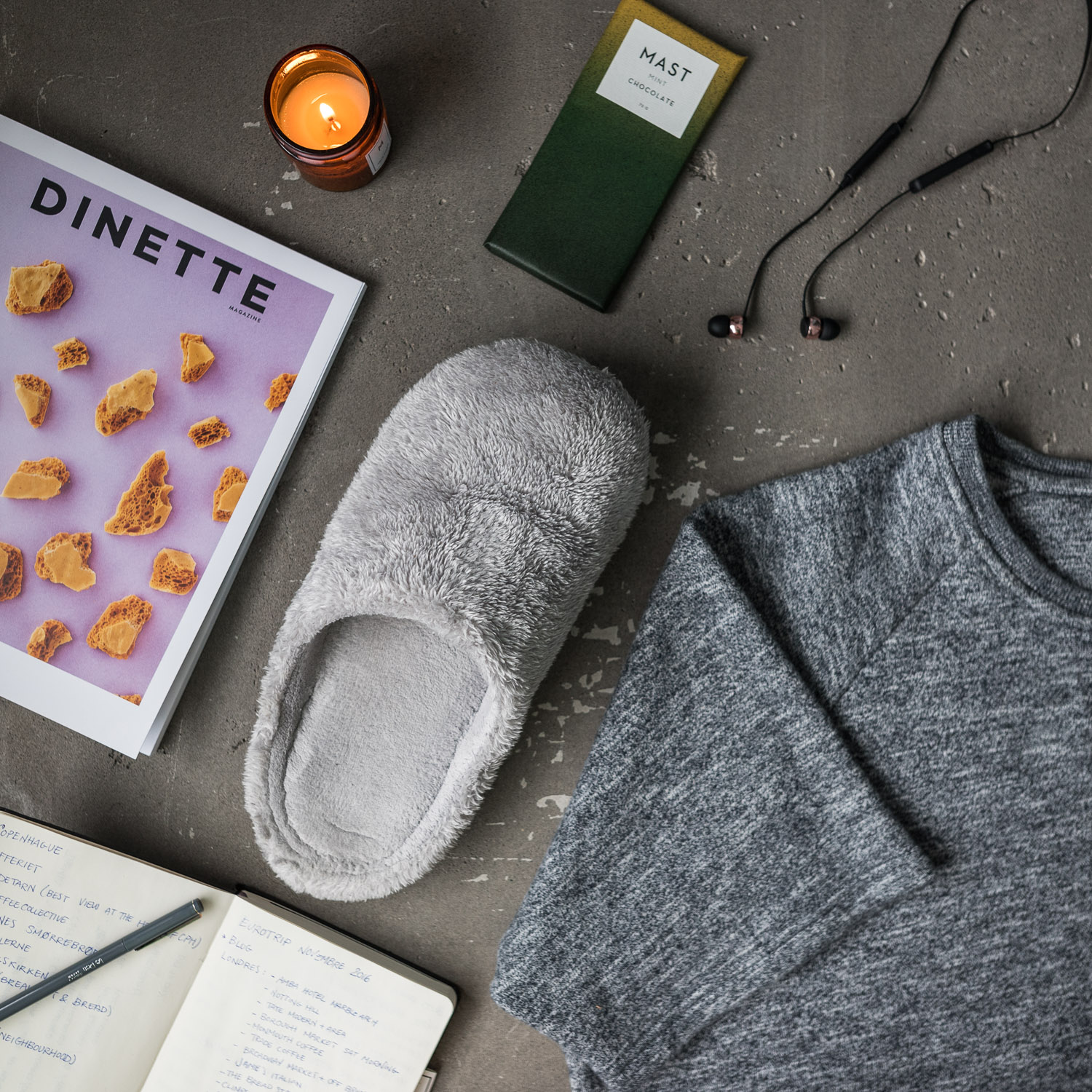 Cosy look for men inspired by Holidays and Christmas by dezjeff