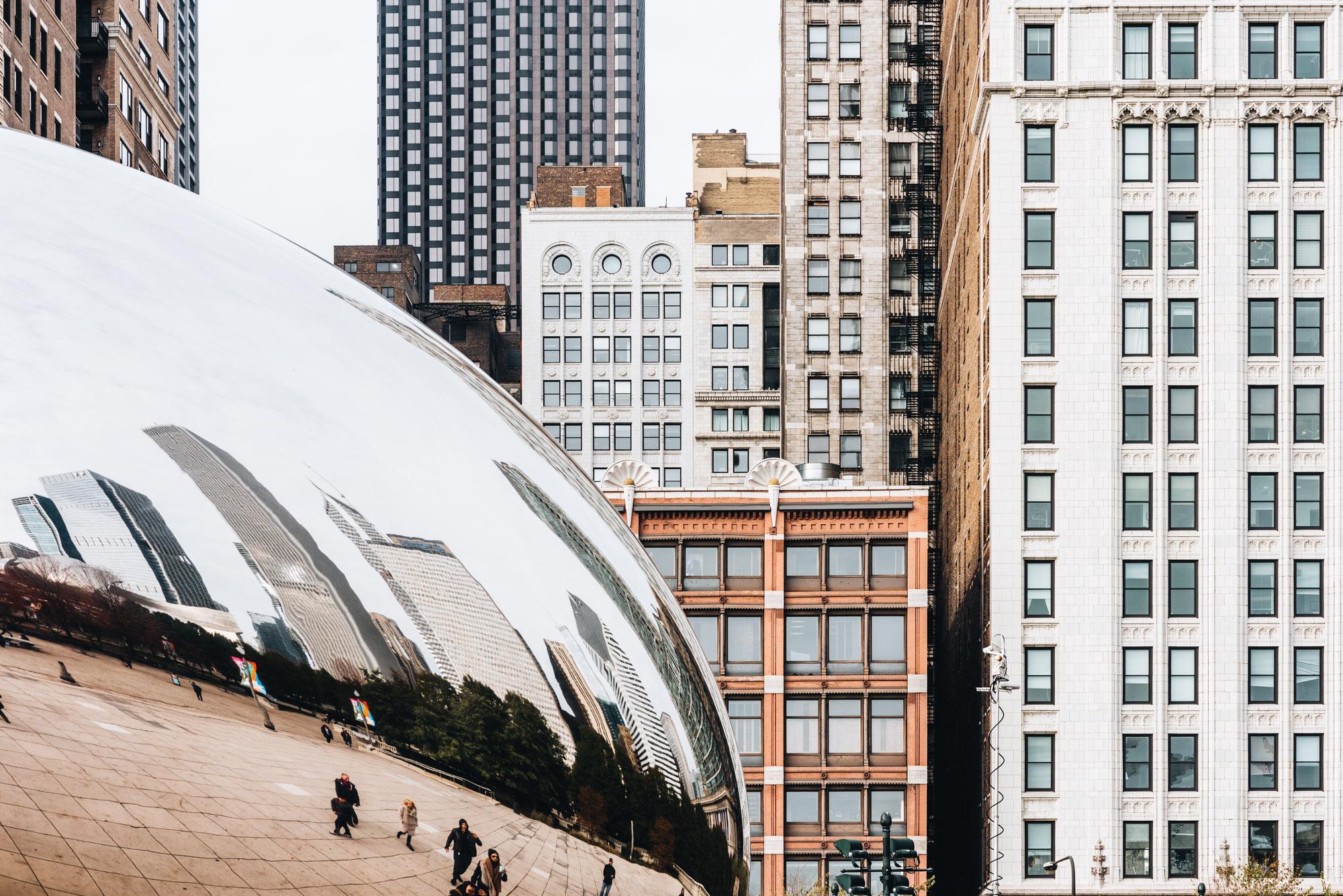 Jeff On The Road - Travel - Chicago - Millenium Park - Cloud Gat
