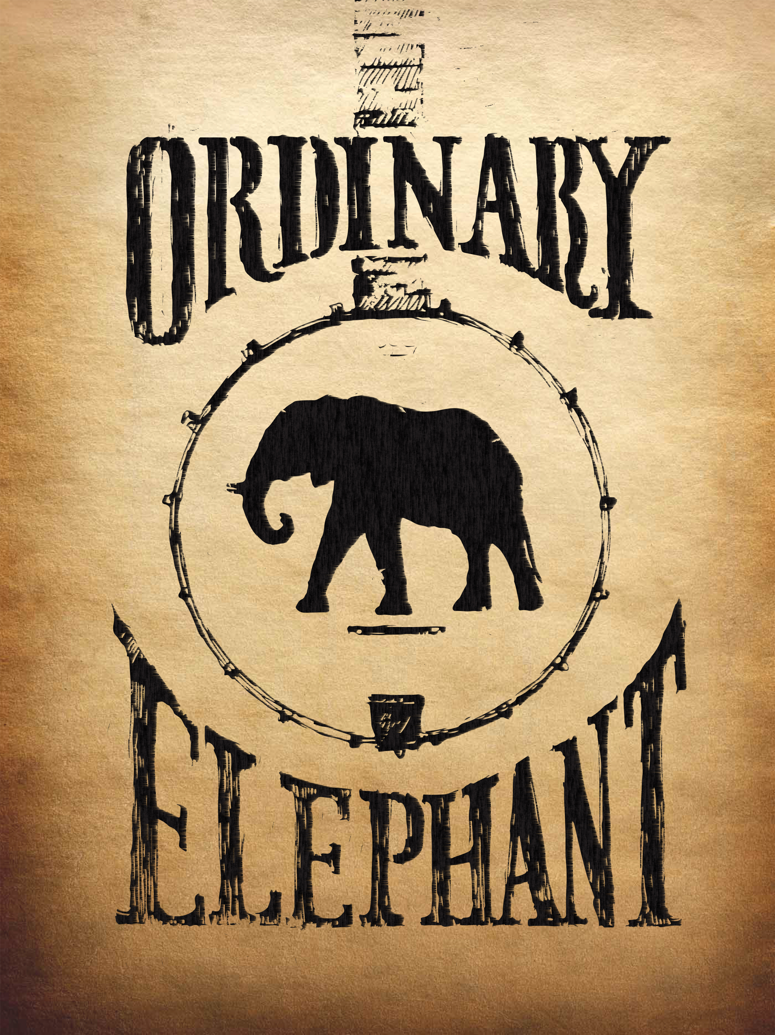 Ordinary Elephant logo (sticker)