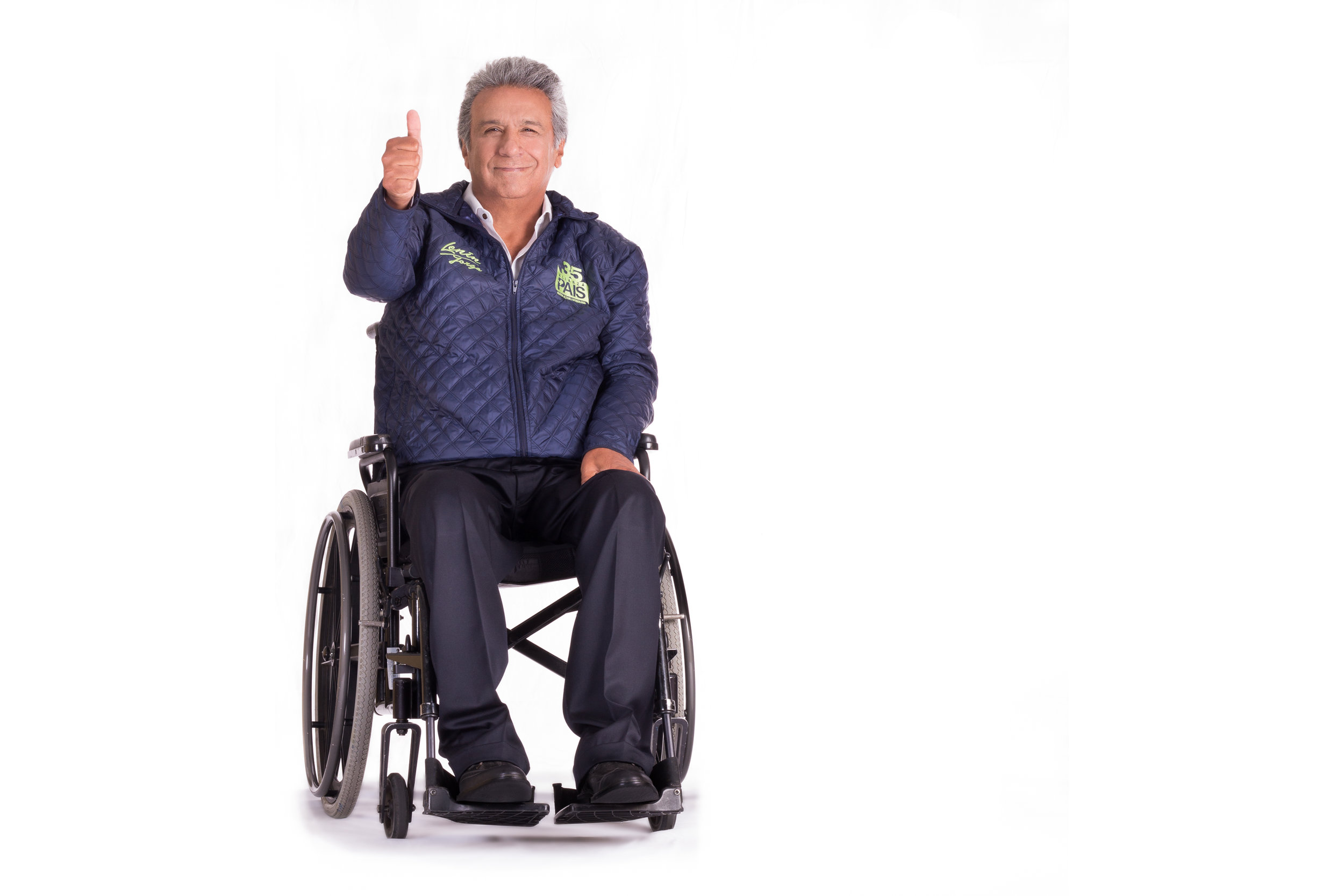 LENÍN MORENO - Campaña: Presidencia del Ecuador.