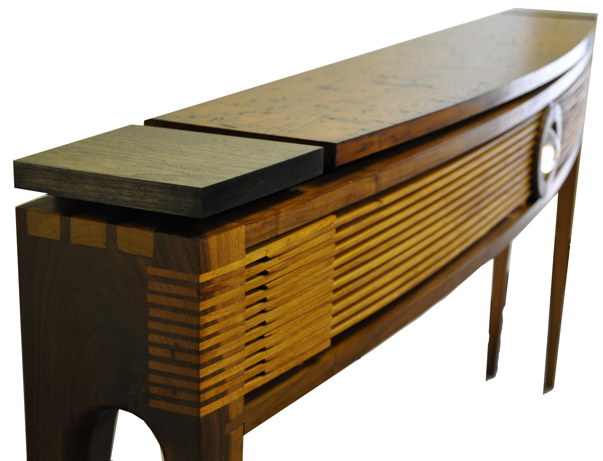 Console designed and made by Christopher Simpson