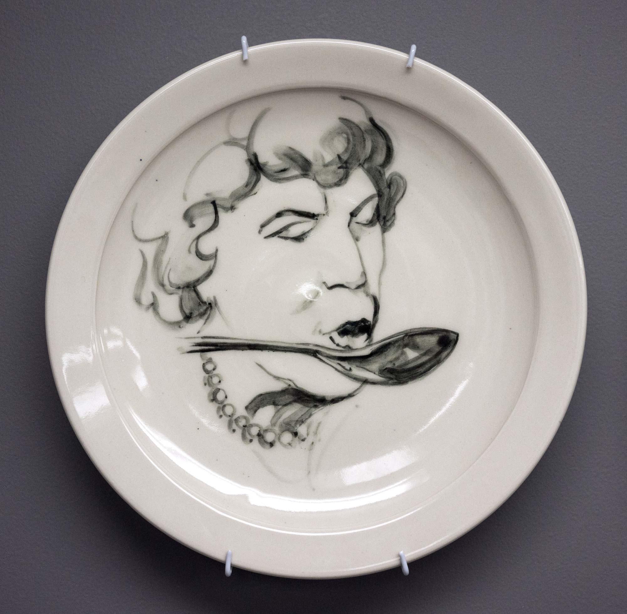 Collaborative Plate: Julia Child