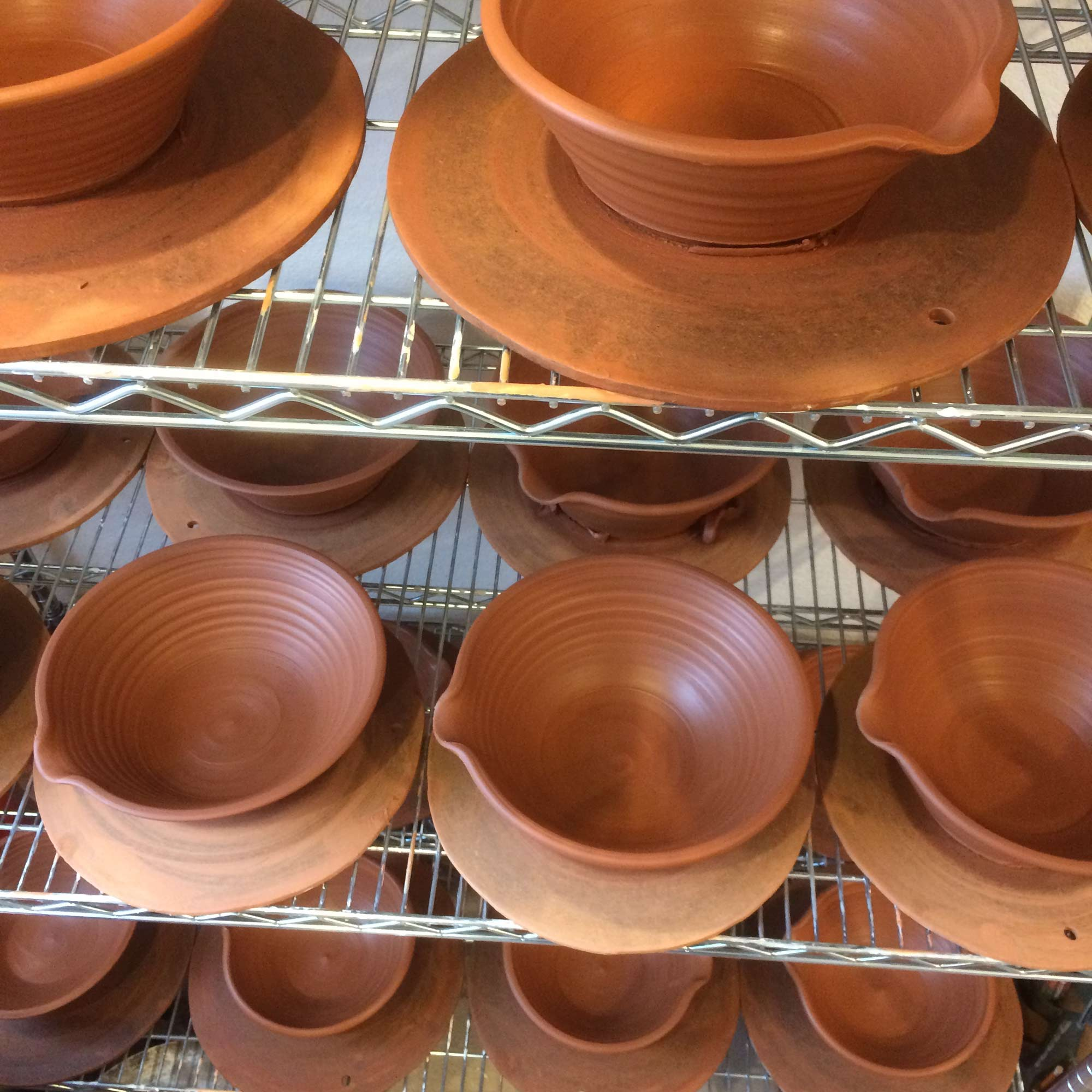 Freshly Thrown Cassoulet Bowls