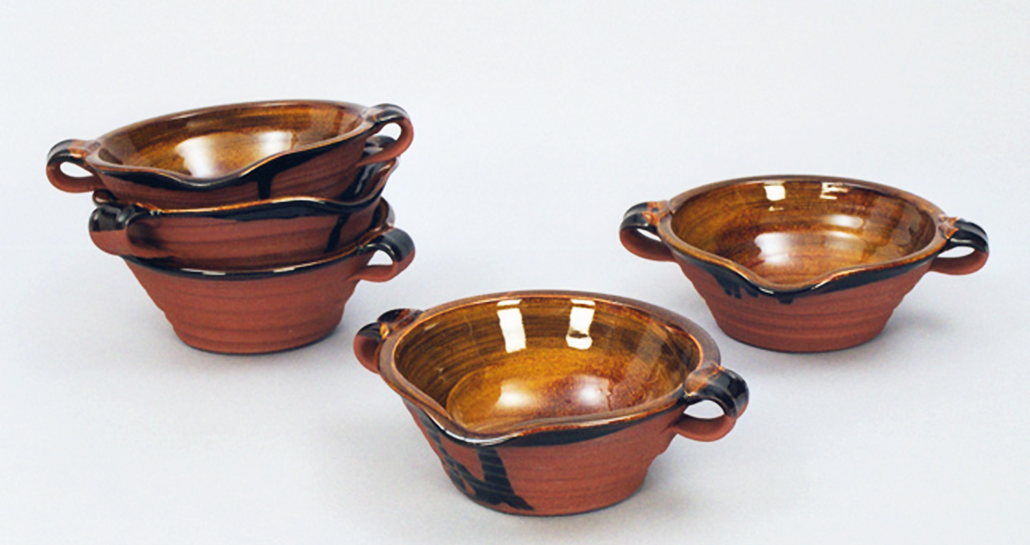 Cassoulet Bowls with Handles
