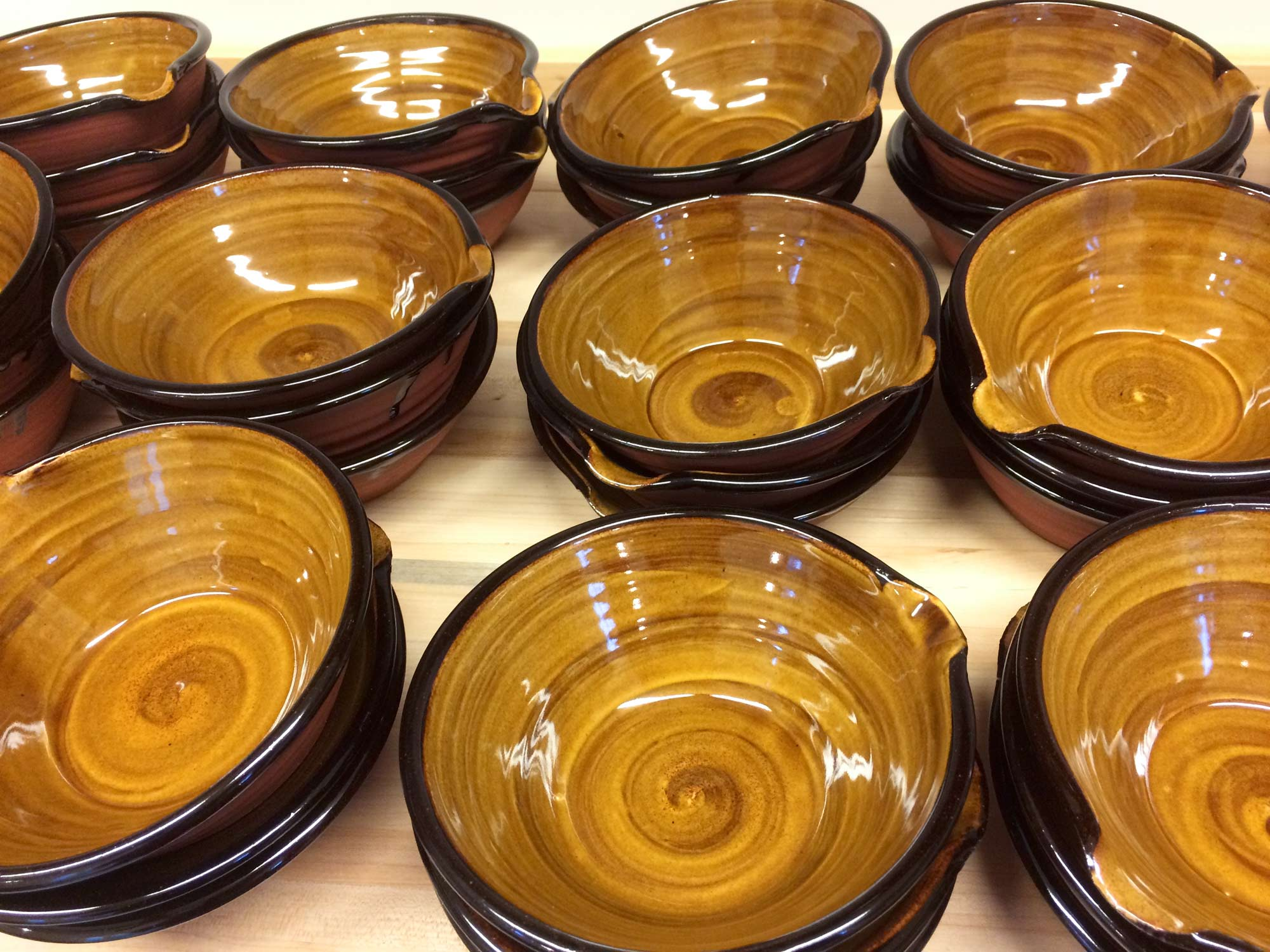 Cassoulet Ware All In A Row