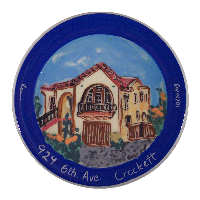 Custom House Plate