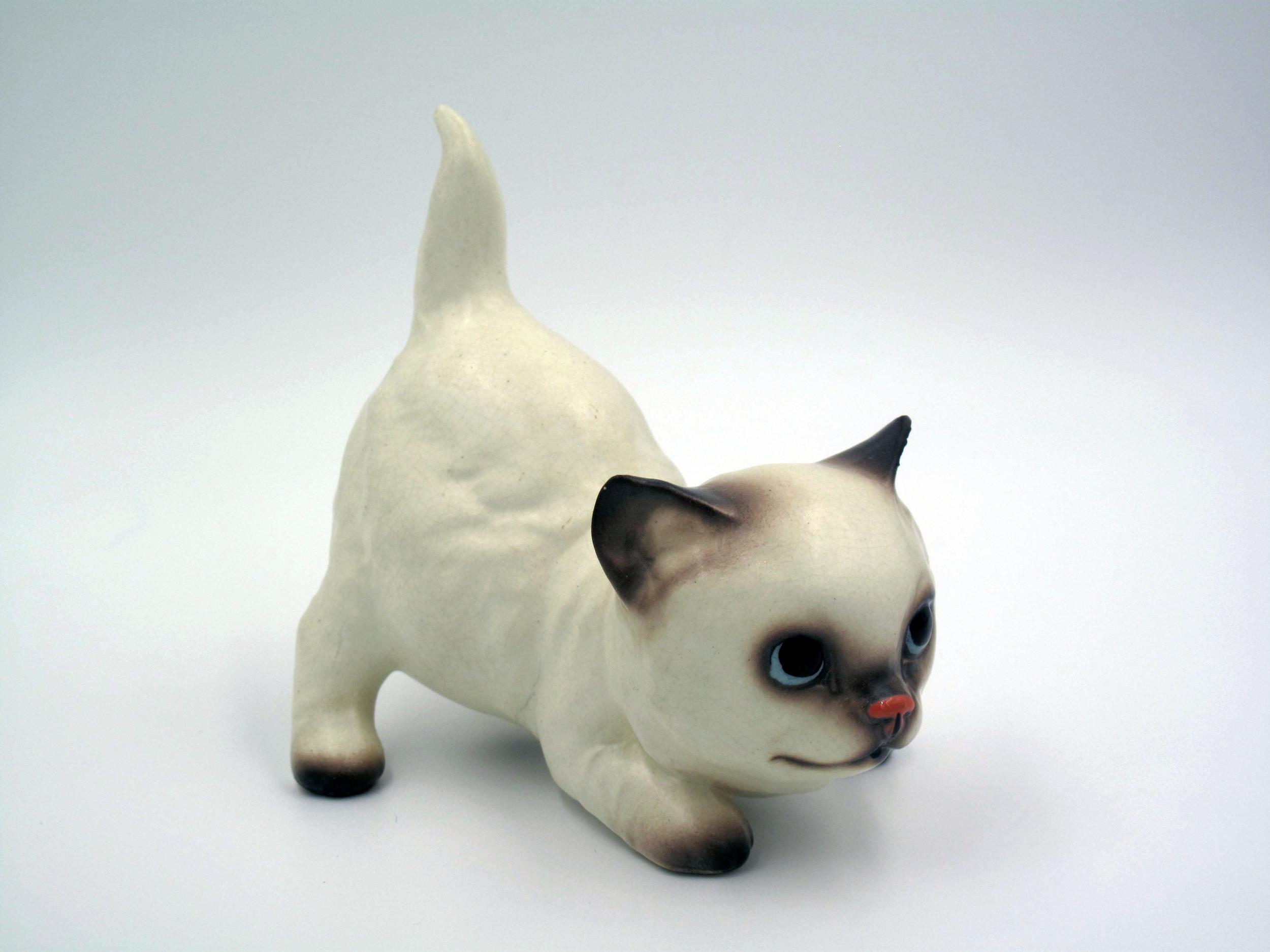 "Persian Kitten ""Moonbeam"""