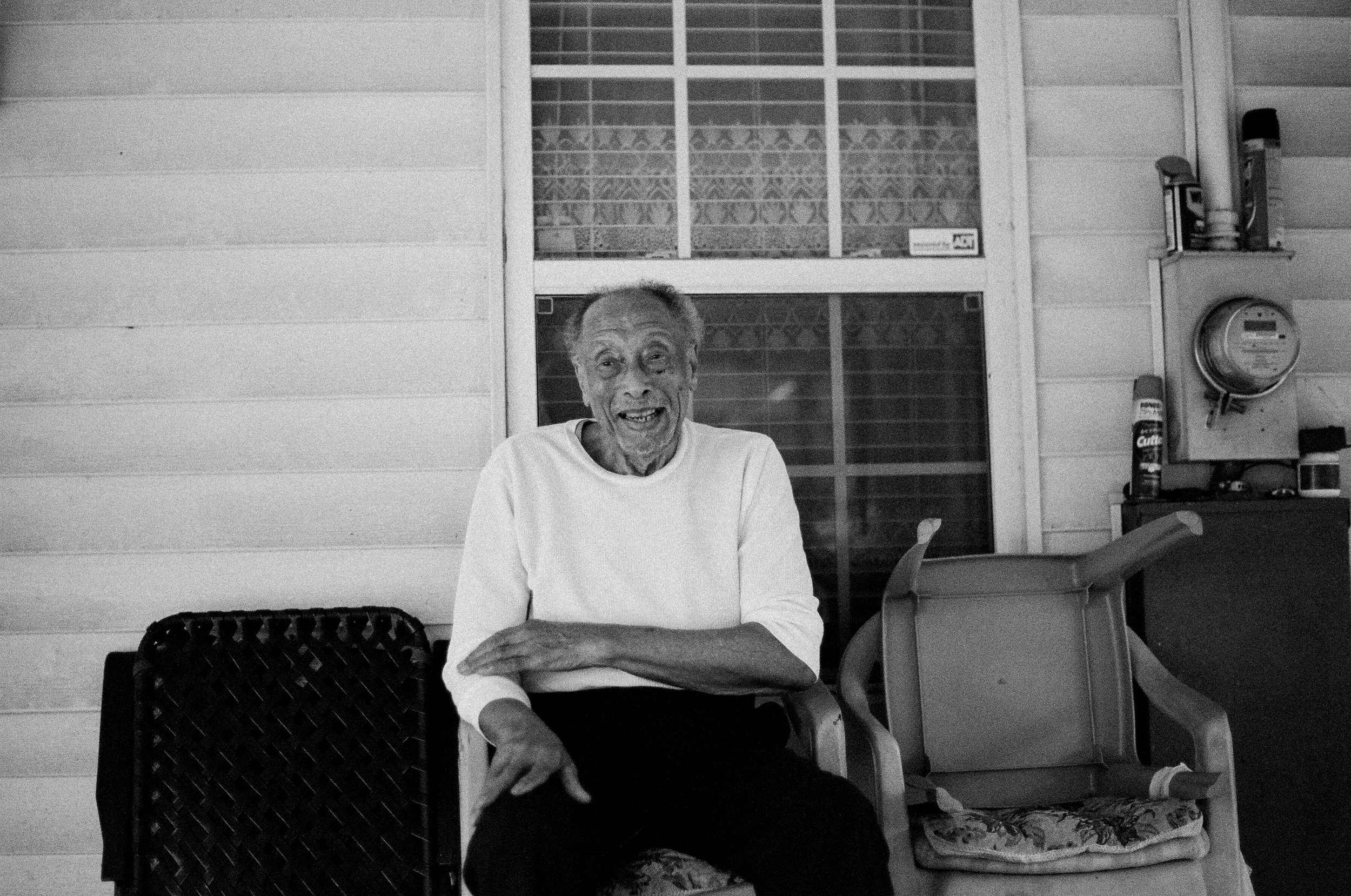 grandad portrait shot new orleans