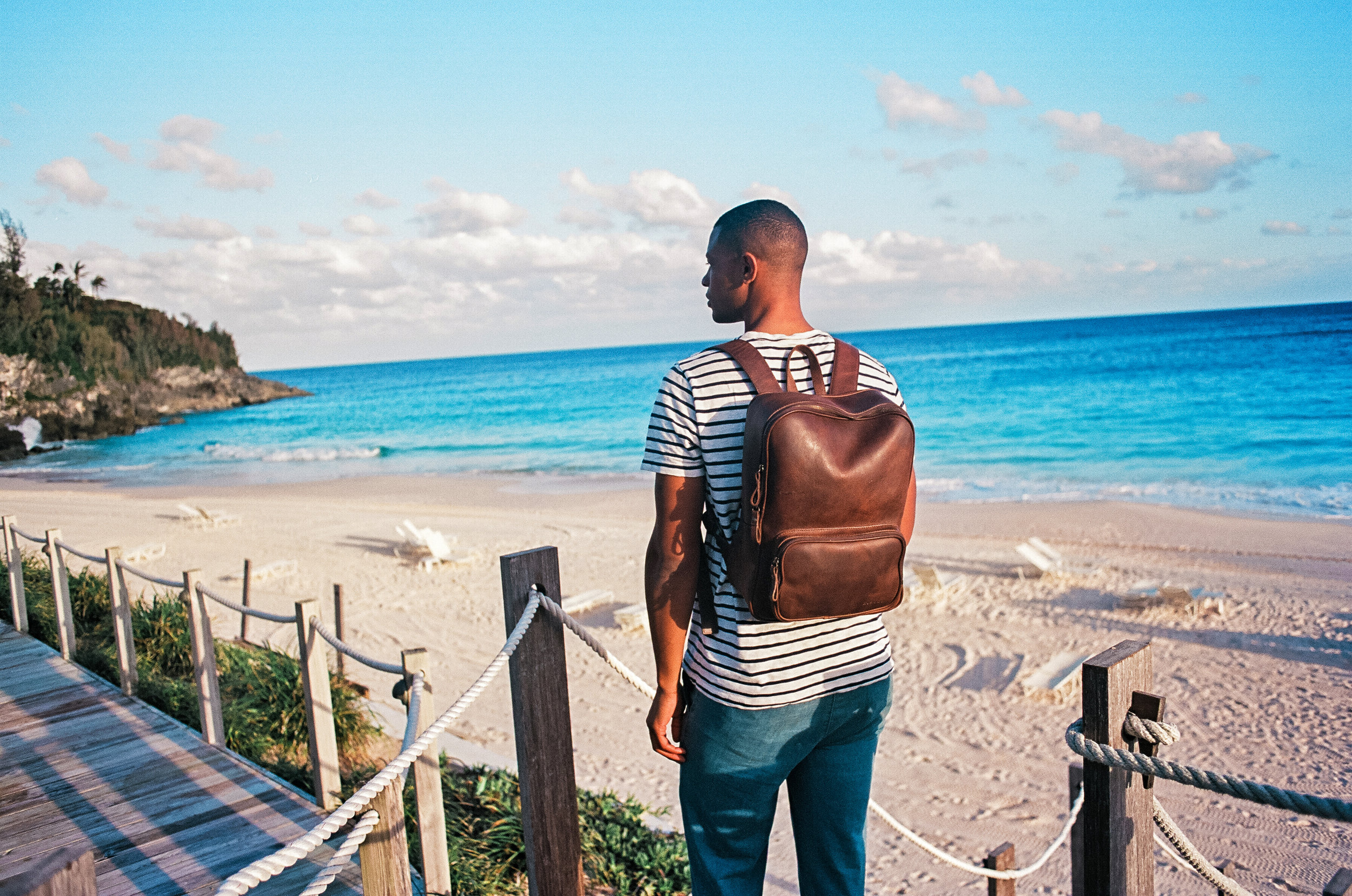 bermuda beach nisolo backpack