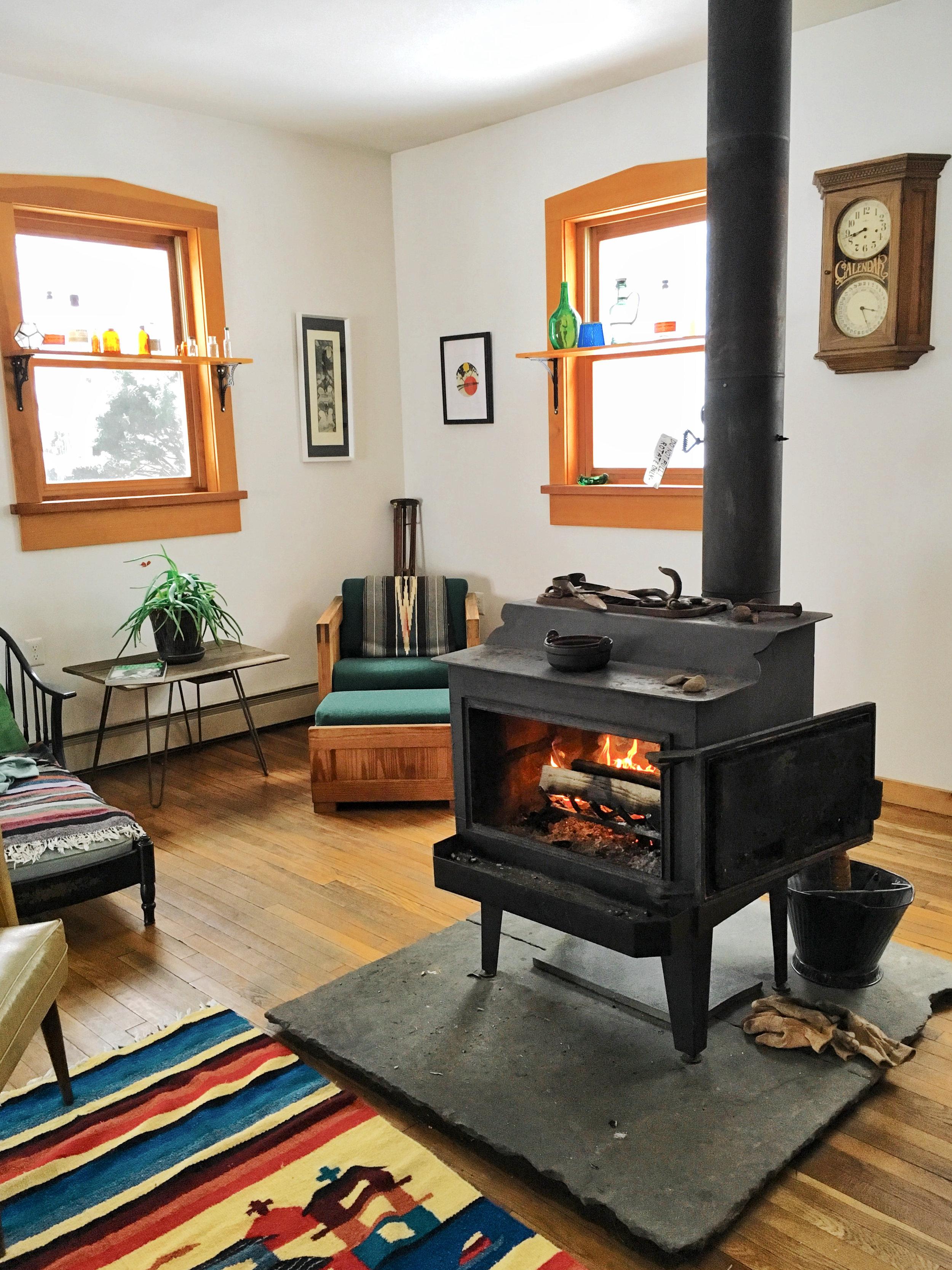 flatrock house fireplace