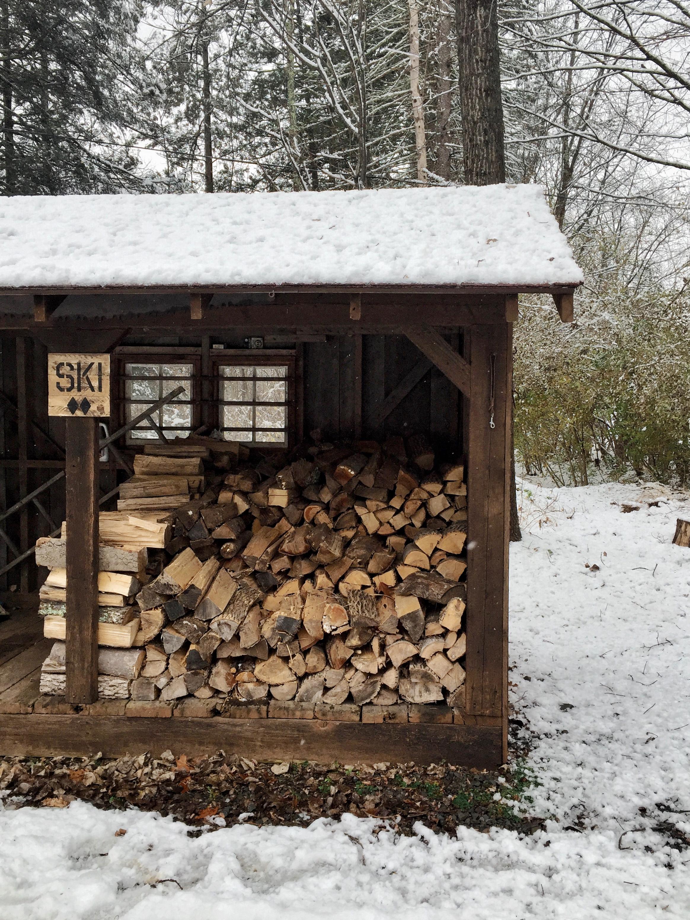 flatrock house wood