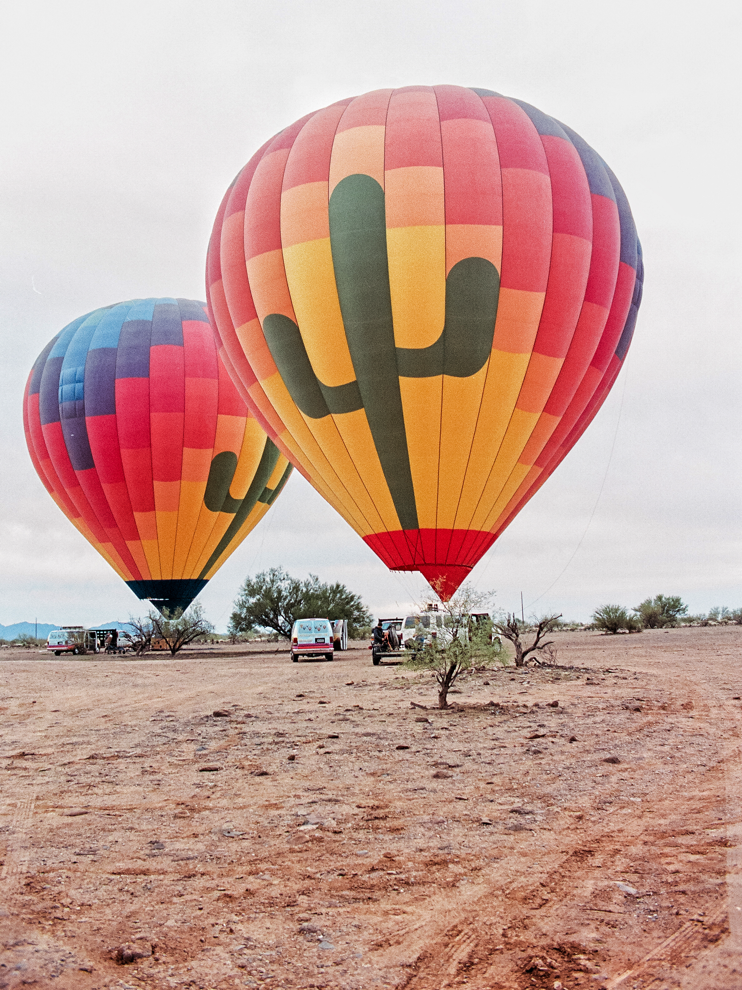 hot air ballon phoenix