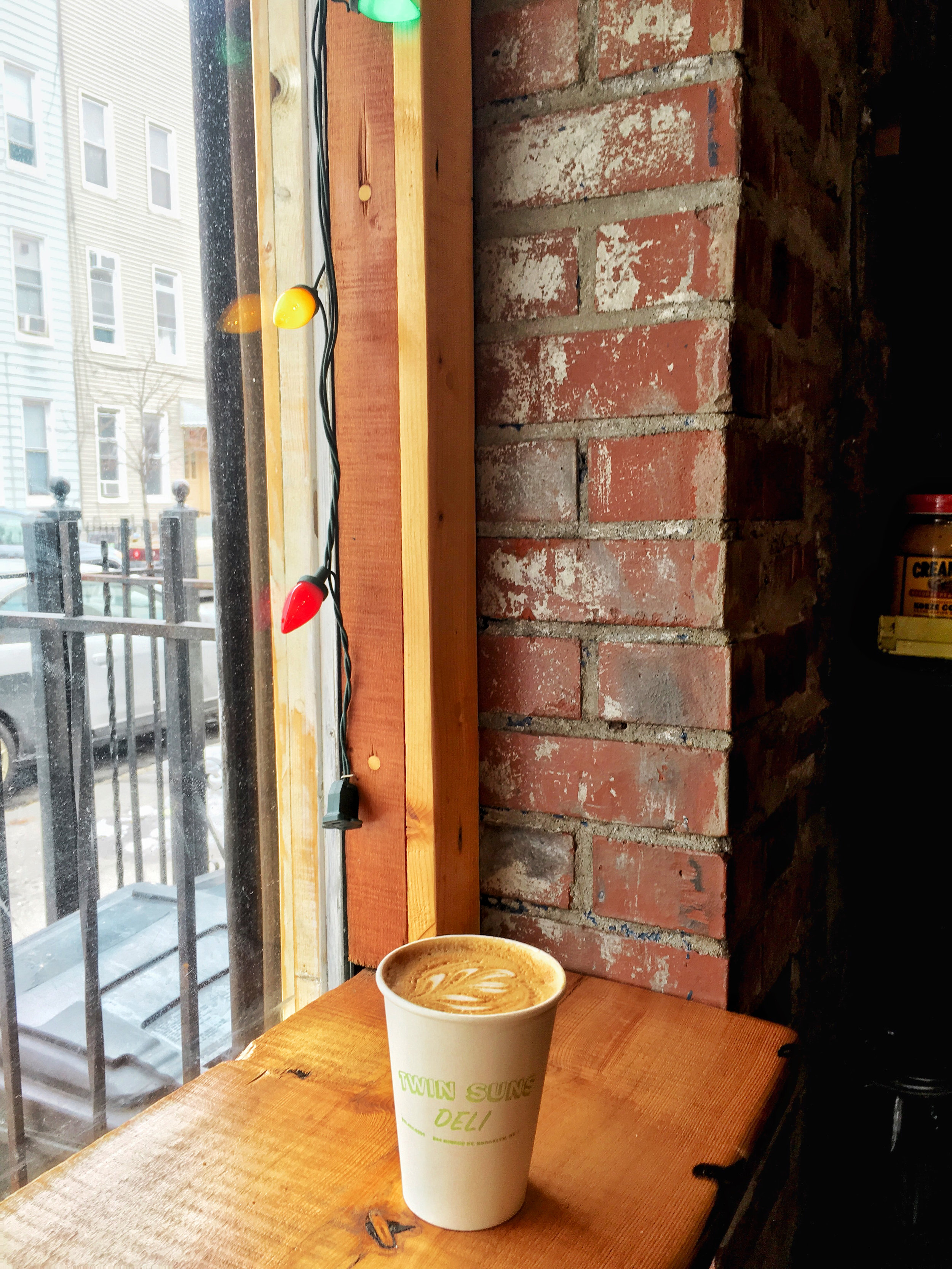 twin suns latte bushwick