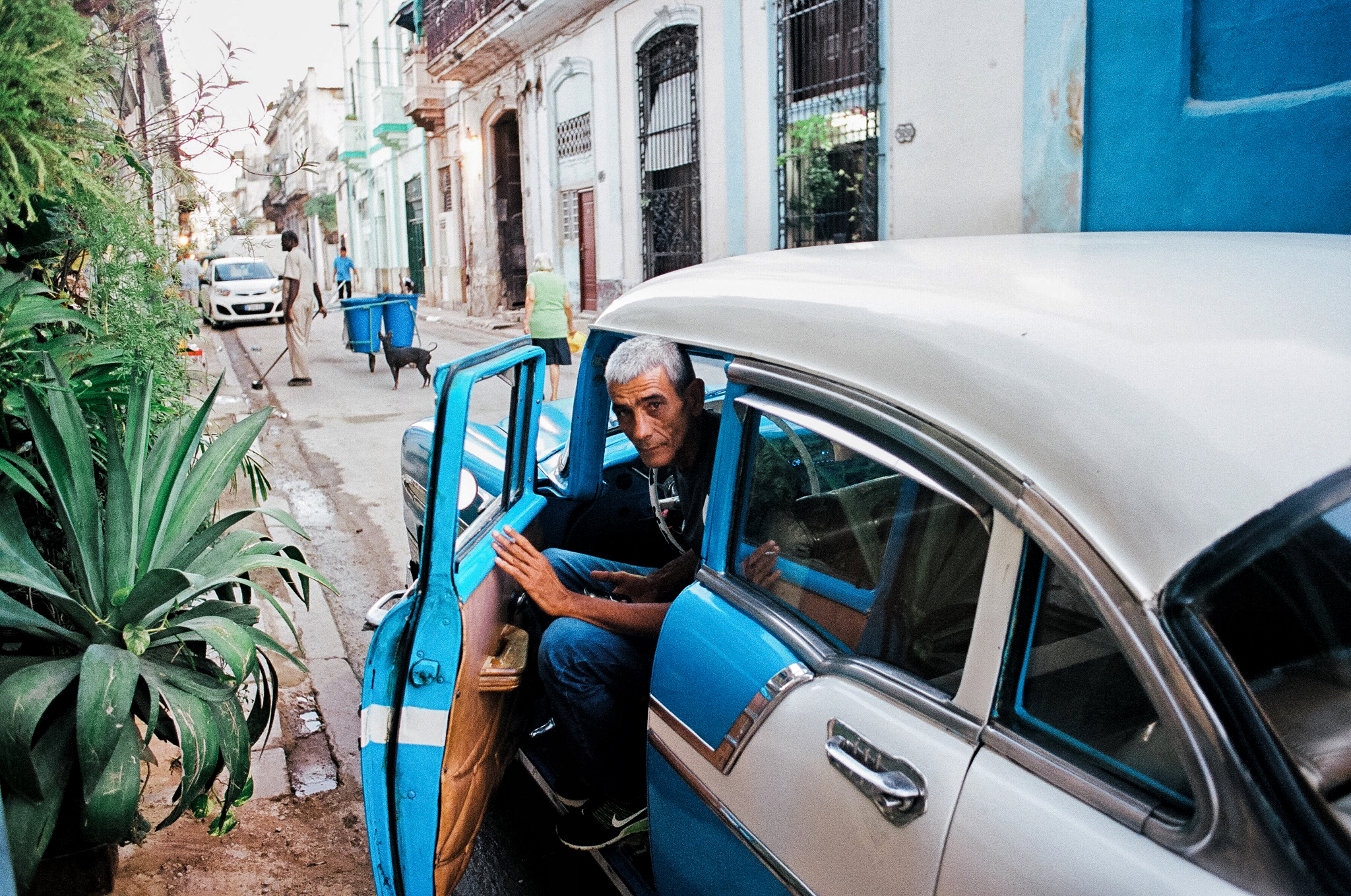 cuba 35mm film street portrait