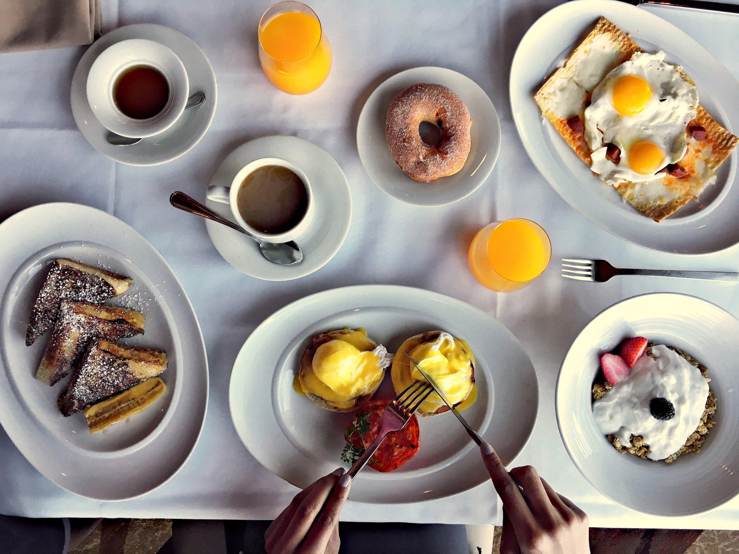 breakfast on anthem of the seas cruise