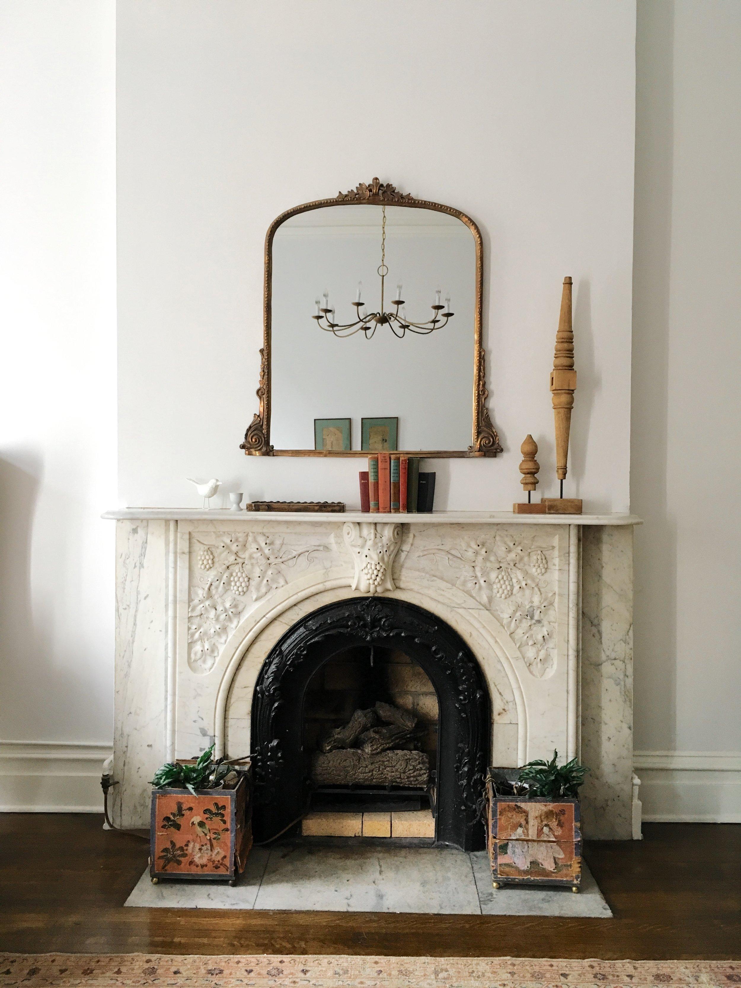 mansion on madison fireplace savannah ga
